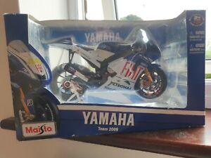 Maisto 1:10 valentino Rossi 46 Yamaha Team Moto GP 2009 Motorcycle Model