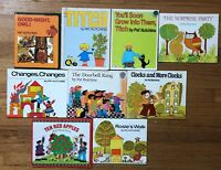 Lot 9 PAT HUTCHINS Picture books Titch Good-Night Owl Changes Rosie's Walk