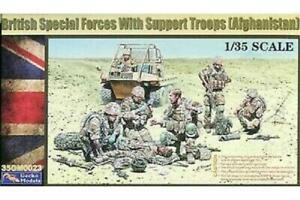 British Special Forces with Support Troops 1/35 scale GECKO model kit