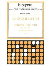 Domenico Scarlatti Sonatas Vol 8 Classical Harpsichord Songs Tunes MUSIC BOOK