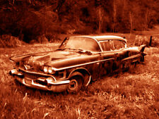 """Abandoned Junk Cars Collection #7 - Canvas Art Poster 18"""" x 24"""""""