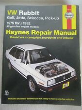 Repair Manual Haynes 96016 VW Rabbit Golf Jetta Scirocco Pick-up 1975 thru 1992