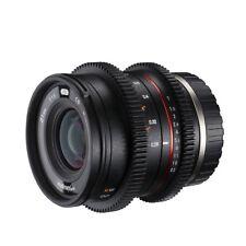 Walimex pro 21/1, 5 vcsc Fuji X video objetivamente, específicamente a aps-c esperaba