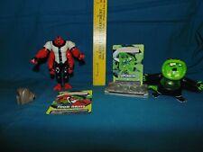 Ben 10 Fourarms & Upchuck figures Battle Version - collection Bandai alien card