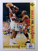 Italian: 1992 Upper Deck Bulls vs. Blazers 1992 NBA Finals Michael Jordan #174