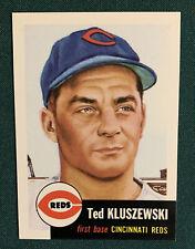 1991 Topps Archives 1953 Baseball Card #162 Ted Kluszewski Baseball Card ⚾️