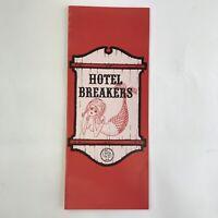 Vintage Brochure Cedar Point Amusement Park Ohio Hotel Breakers Guest Room Info
