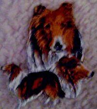 Shetland Sheepdog Sheltie Dog Breed Embroidered Dog Animal Iron On Patch