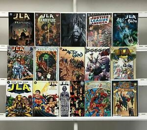 Justice League Graphic Novels  Dc 15 Lot Comic Book Comics Set Run Collection1