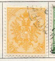 Bosnia Herzegovina 1900 Early Issue Fine Used 3nov. 096571