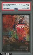 2013 Panini Court Kings #73 John Wall Wizards PSA 10 GEM MT POP 1