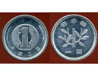 JAPON 1 yen 1991