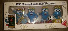 1996 Olympic Games IZZY Figurines Figures Box Series 1 Soccer,  Cycling, Torch