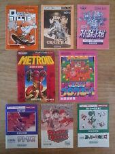 Lot Notices GAME BOY (Metroid II 2 / Kirby / Tetris / Yoshi) - Japan Nintendo