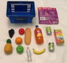 "My Life As WALMART FAKE FOOD Shopping Basket for 18"" Doll like American Girl"