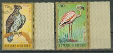 Burundi Briefmarken 1966 Vögel mit Rand Mi.Nr.165 und 166
