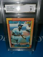 1990 Topps Frank Thomas Rookie #414 White Sox GMA 9 MINT ! HALL OF FAMER ! 🔥⚾️