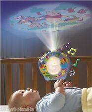Disney TOMY WINNIE THE POOH SWEET DREAMS NIGHT LIGHT SHOW Baby Cot Crib Mobile
