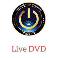 TENS Linux 64-Bit 16 Gb 3.0 Live DVD Bootable LPS NSA Level Security