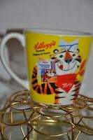 RARE VINTAGE KELLOGGS Frosted Flakes Tony the Tiger Mug (YELLOW)