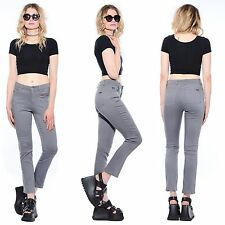 Vtg 90s GUESS JEANS Stretch HIGH WAIST Slim Skinny Fit Tapered Leg Disco Pants M