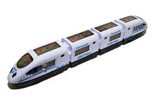 XL Zug Bahn Schnellzug Eisenbahn Straßenbahn Selbstfahrend LED Sound Spielzeug