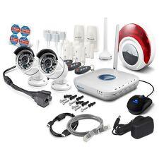 Swann NVA-460 Wi-Fi CCTV & Alarm Security Camera Kit,2 x 720p Cam's,7 x Alam's