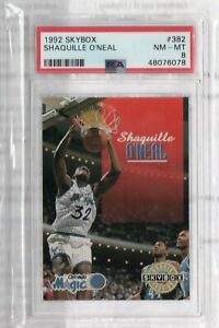 Shaquille O'Neal 1992-93 Skybox Rookie Card PSA 8 Graded
