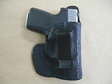 Kahr 380 IWB Molded Leather Inside Waistband Concealed Carry Holster BLACK RH