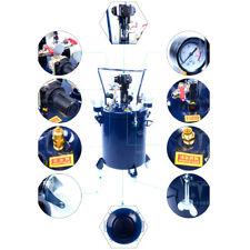 5gal Pressure Feed Paint Pot Tank Spray Gun Sprayer Regulator Air Gitator 20l