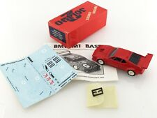 Solido 2 - TOP43 - BMW M1 - Series PROCAR 1981 1/43 scale. NEW