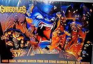 Vintage Gargoyles Poster O.S.P. Publishing 90s Rare HTF 34 x 23 Goliath sealed