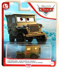 CARS 2 - RACE TEAM SARGE - Mattel Disney Pixar