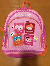 Girls Toddlers Lalaloopsy Doll Pink Backpack Book Bag School Pack Tote Sack