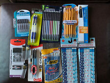 Pentel Champ Automatic Pencil With Lead And 2 Erasers 05mm 07mm Wood Huge Lot