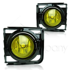 For 11-15 Scion xB Fog Lights w/Wiring Kit & High Power COB LED Bulbs - Yellow