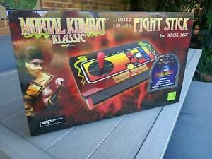 Mortal Kombat arcade fight stick USB LIMITED EDITION RARE