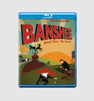 Banshee Season 1 Blu-ray [Region Free] Complete First Season Crime Drama Series