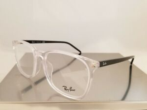 AUTHENTIC Ray-Ban RX 5387 F Rayban eyeglasses Frame 5629 Clear 54mm UNISEX
