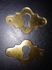 10 ornements de serrure 27.5X17.5mm pour coffret en bois