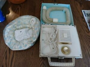 Vintage Lady Suzlin by Dominion Controlled Heat Soft Bonnet Hair Dryer