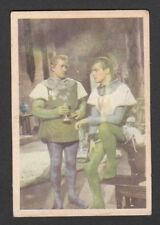 Ivanhoe Roger Moore 1958 TV Series Scarce Card Look! from Germany E