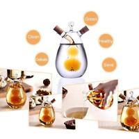 Creative Kitchen Glass Oil Bottle Multi-purpose Oil Vinegar Cruet Container New