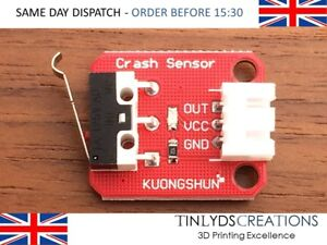 mechanical end stop limit switch with cable for 3D printer and CNC