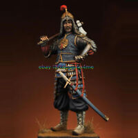 Unassembled 75mm Mongolian warrior Figure Model Resin Unpainted Garage Kits new