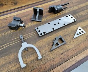Machinist Tools Mixed Lot Blocks Parallels Clamps Gauges Cutting Toolmakers ☆USA