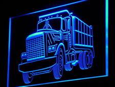 "16""x12"" i937-b Dump Truck Car Display Bar NEW Gift Light Sign"