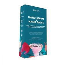 VEGAN ORGANIC SPARITUAL Hand Serum 1oz + Hand Salve 1.7oz Skin Care Duo Kit