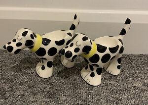 Whittard Of Chelsea Dalmatian dog Egg Cups X 2
