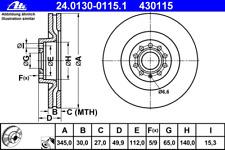 Bremsscheibe (2 Stück) - ATE 24.0130-0115.1